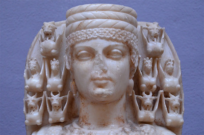 Details of the Head of Artemis, Ephesus Museum.