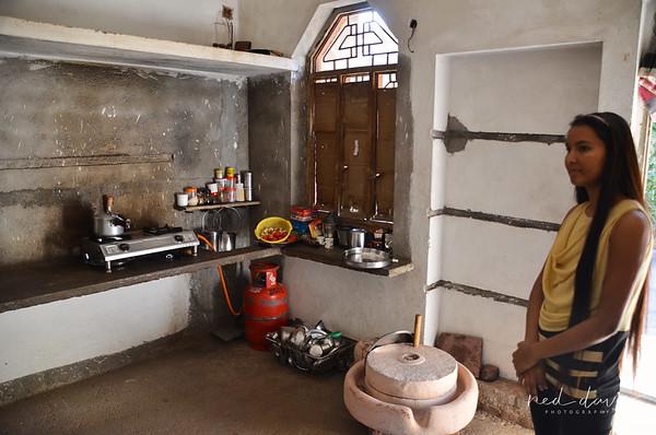 Rural farm house kitchen