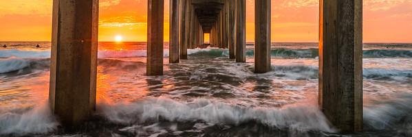 Sony A7RII Scripts Pier Landscape La Jolla San Diego Dr. Elliot McGucken Fine Art Landscape Photography