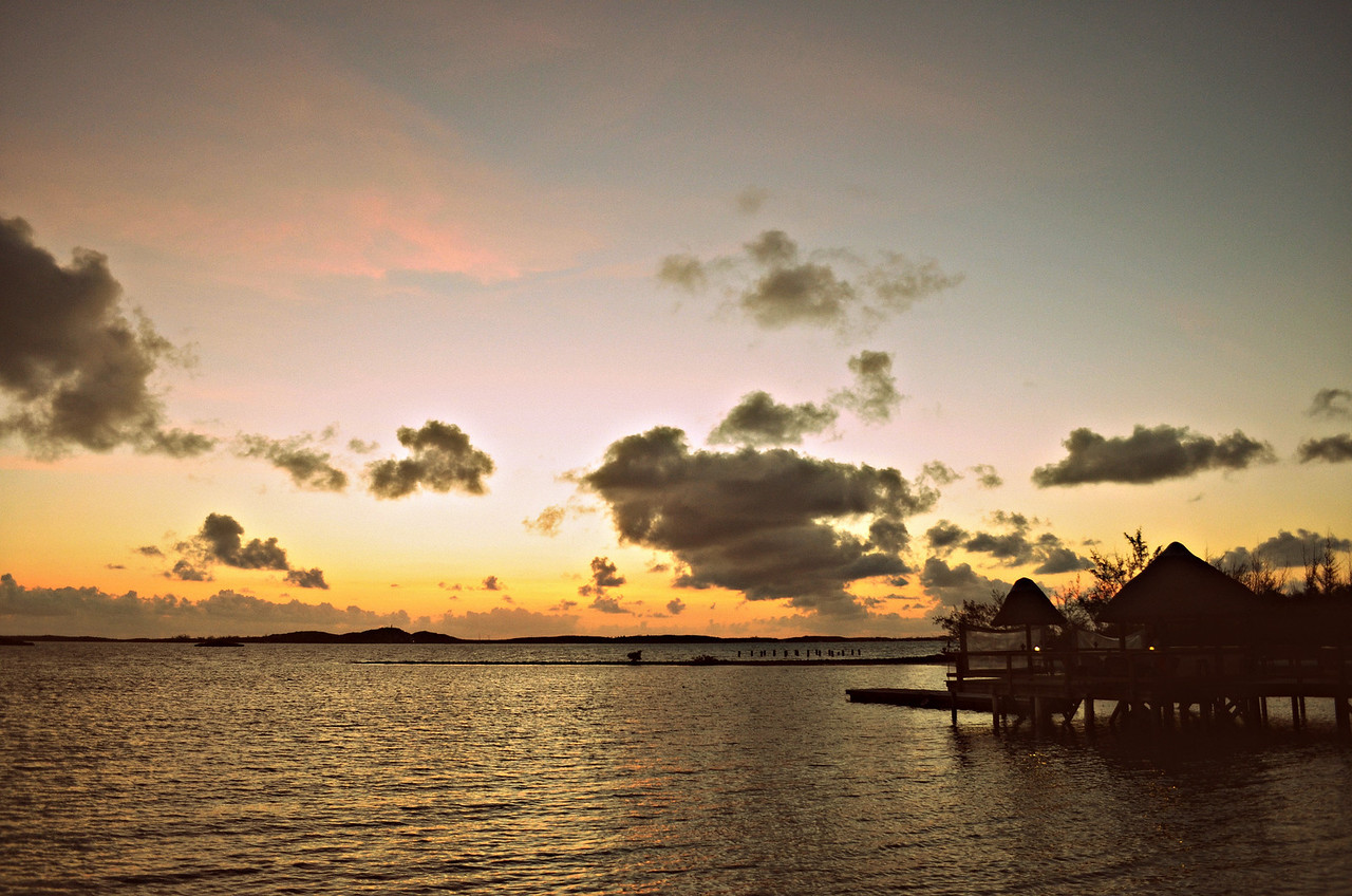An Old Time Sunrise In The Exumas, Bahamas