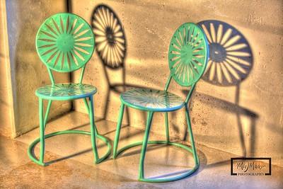 Terrace Chair Shadows