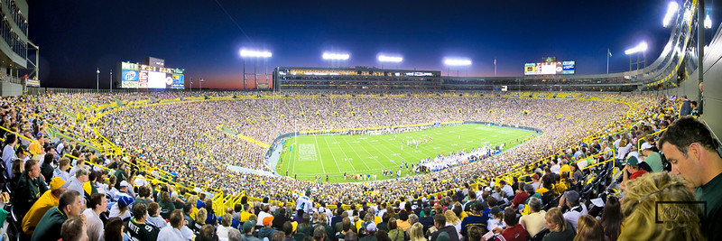Lambeau Field  © Copyright m2 Photography - Michael J. Mikkelson 2009. All Rights Reserved. Images can not be used without permission.