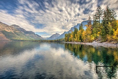Lake McDonald Fall