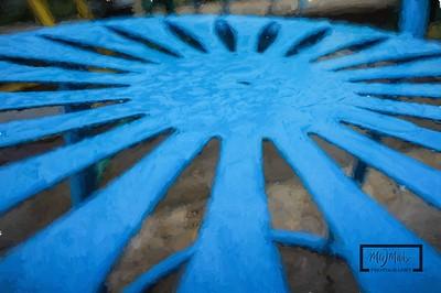 Mendota Blue After Rain