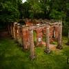 Old Sheldon Ruins Aerial