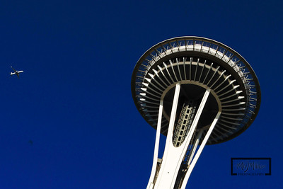 Space Needle in Seattle, WA  © Copyright m2 Photography - Michael J. Mikkelson 2009. All Rights Reserved. Images can not be used without permission.