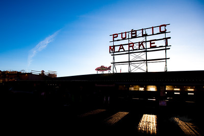 Public Market in Seattle, WA  © Copyright m2 Photography - Michael J. Mikkelson 2009. All Rights Reserved. Images can not be used without permission.