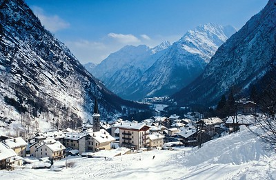 Alagna - the European ski town that is lost in time.