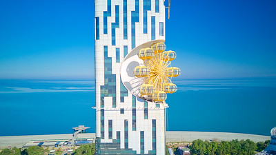 Our adventure started in Batumi - home of the weirdest architecture in the world