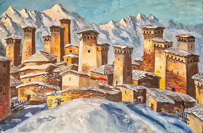 And the unofficial capital of Svaneti is Ushguli - a remote, magical mountain village