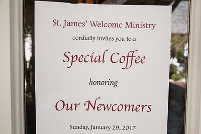 NEWCOMERS' RECEPTION  JAN 29 2017