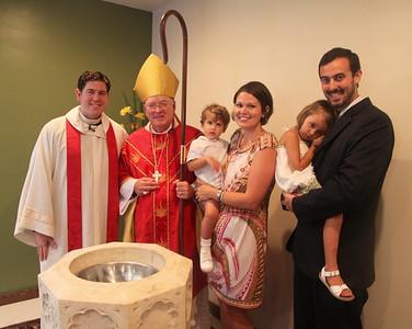 TEC10 - Family Photos - Baptismal Font