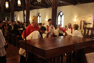 tec6 - The Dedication of the Altar, The Lady Chapel, The Tabernacle
