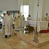 Incense at the altar