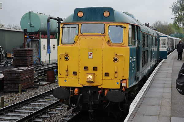 Epping and Ongar Diesel Gala April 2018