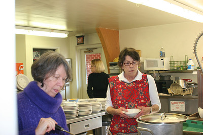 More kitchen magic - Ann, Betty and Marcie