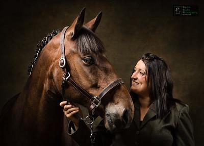 Horse & Rider Portrait 1
