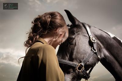 Horse & Rider Portrait 3
