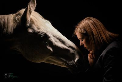Horse & Rider Portrait 6
