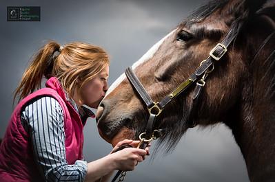 Horse & Rider Portrait 2