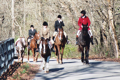 Annual Blessing of the Hounds event for the Iroquois Hunt Club in Lexington Kentucky USA