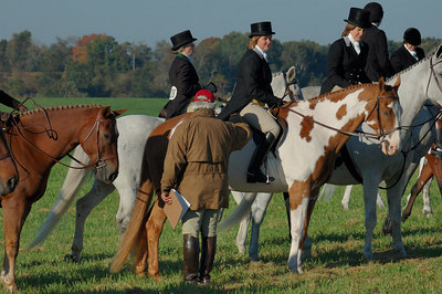 Stock image of the Masters of Foxhounds Association Centennial Field Hunter Competition.  This was the Midsouth and Central District championship hosted by the Iroquios Hunt Club at Boone Valley Farm in Lexington, Kentucky in October 2006.
