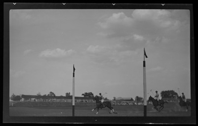 Title: Iroquois Hunt Club; polo game scenes Date: 8/10/1936 Collection: Collection on Lafayette Studios