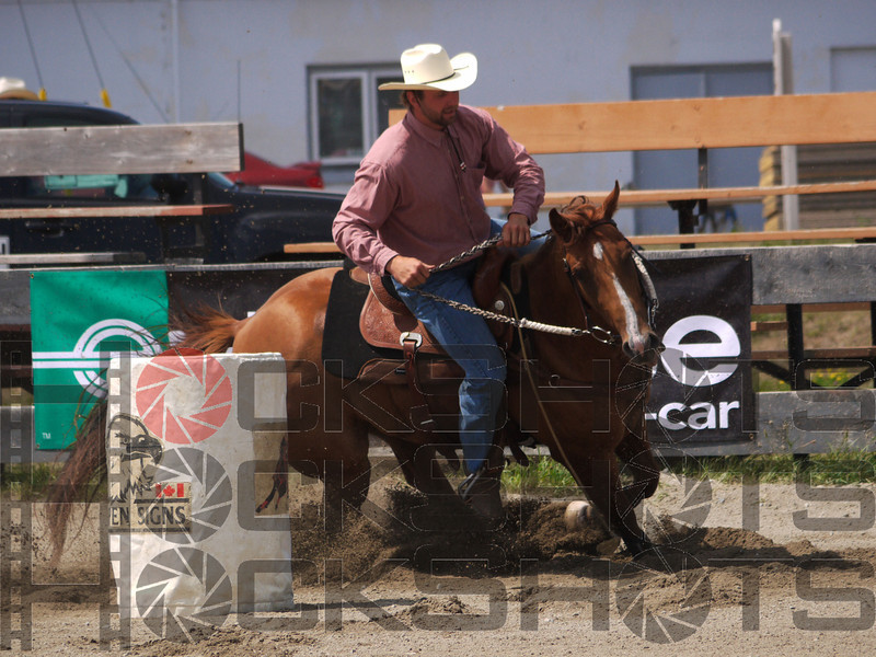 Andy Dinnessen on Betsy Cash  4-D BARRELS 2nd Run and EXHIBITION RUNS on Sat. July 10, 2010