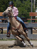 Caleb Clingen on Wild Speculation , 2010 ECBF Futurity Barrels