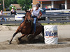 Darlene Jackson  4-D BARRELS 2nd Run and EXHIBITION RUNS on Sat. July 10, 2010