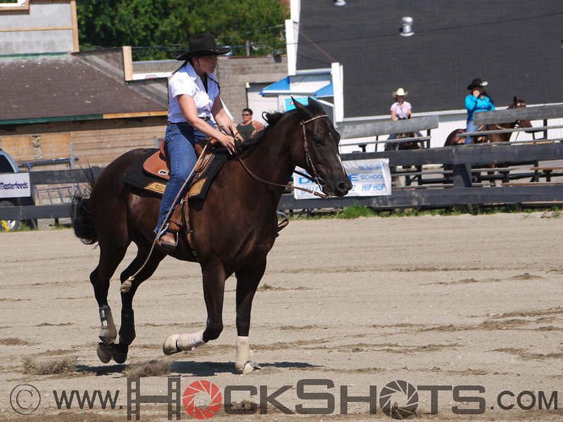 Denise Beland on Mr Midnight Sugar , 4-D BARRELS - 1st Run on Sunday July 11, 2010