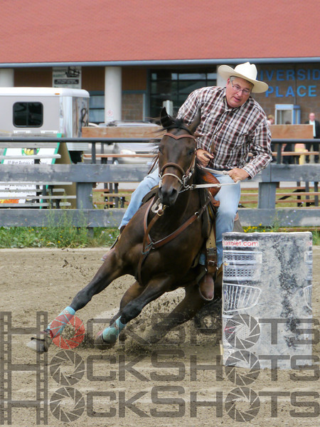 3-D Senior Barrels on Saturday, August 3, 2013
