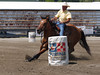 Kurt Kneidinger on Farrells Little Tina , 2010 ECBF Futurity Barrels
