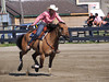 Marg Ten Hove on Farrells Smart Dash , 4-D BARRELS - 1st Run on Sunday July 11, 2010
