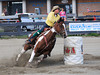 Brenda Dickensen  4-D BARRELS 2nd Run and EXHIBITION RUNS on Sat. July 10, 2010