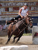 Laurie Fisher on Baileys Native Dash  4-D BARRELS 2nd Run and EXHIBITION RUNS on Sat. July 10, 2010
