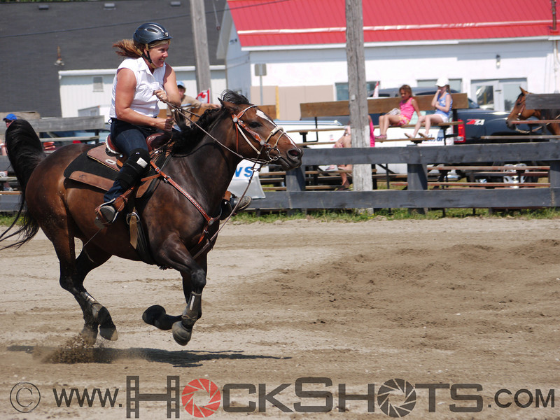Laurie Fisher on Baileys Native Dash , 4-D BARRELS - 1st Run on Saturday July 10, 2010