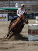 Louise Annett on Justa Busy Body  4-D BARRELS 2nd Run and EXHIBITION RUNS on Sat. July 10, 2010