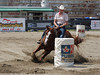 Marie Claude Paradis on Robin Bonanza Jetulit  4-D BARRELS 2nd Run and EXHIBITION RUNS on Sat. July 10, 2010