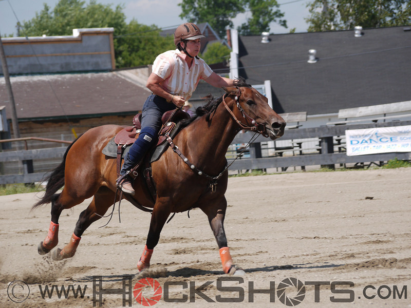 Rebecca McWhirter on Farrels Pacific Cash , 4-D BARRELS - 2nd Run on Sunday July 11, 2010