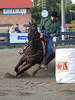 Rock Beaupre on Dollars On Fire , 2010 ECBF Futurity Barrels