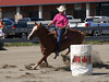 Tessa Wilson  4-D BARRELS 2nd Run and EXHIBITION RUNS on Sat. July 10, 2010