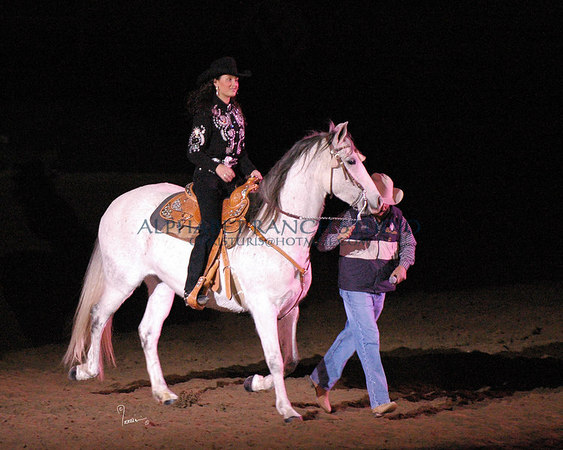 Naiomy Torres and her PRE mare, Curiosa
