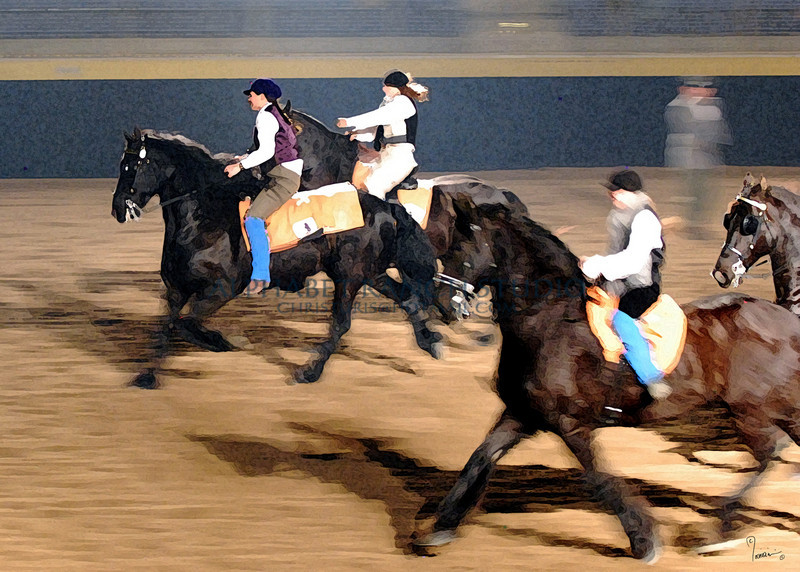 Painting version of the Friesian group