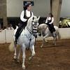 Tracy Vale on her PRE stallion, Nobel