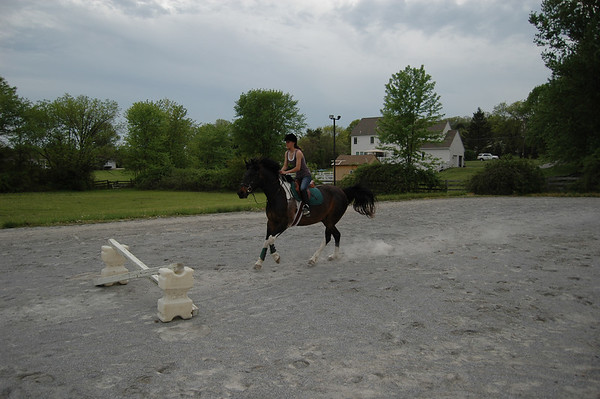 Riding Toby - 5-10-07