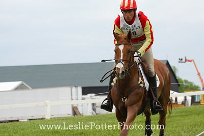 Boyd Martin and Rock on Rose