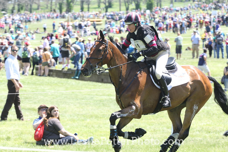 Cross-Country at the 2014 Rolex Kentucky Three-Day Event