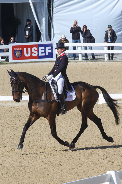 Nicola Wilson (GBR) and Watermill Vision