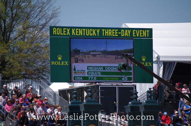 Stadium Jumping at the 2015 Rolex Kentucky Three-Day Event